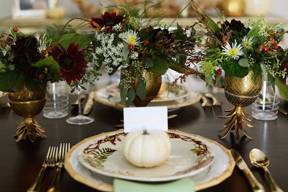 Fall Tablescape With Juliska Palm Beach Lately