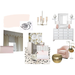 Baby A's Swan Soiree Nursery Inspiration