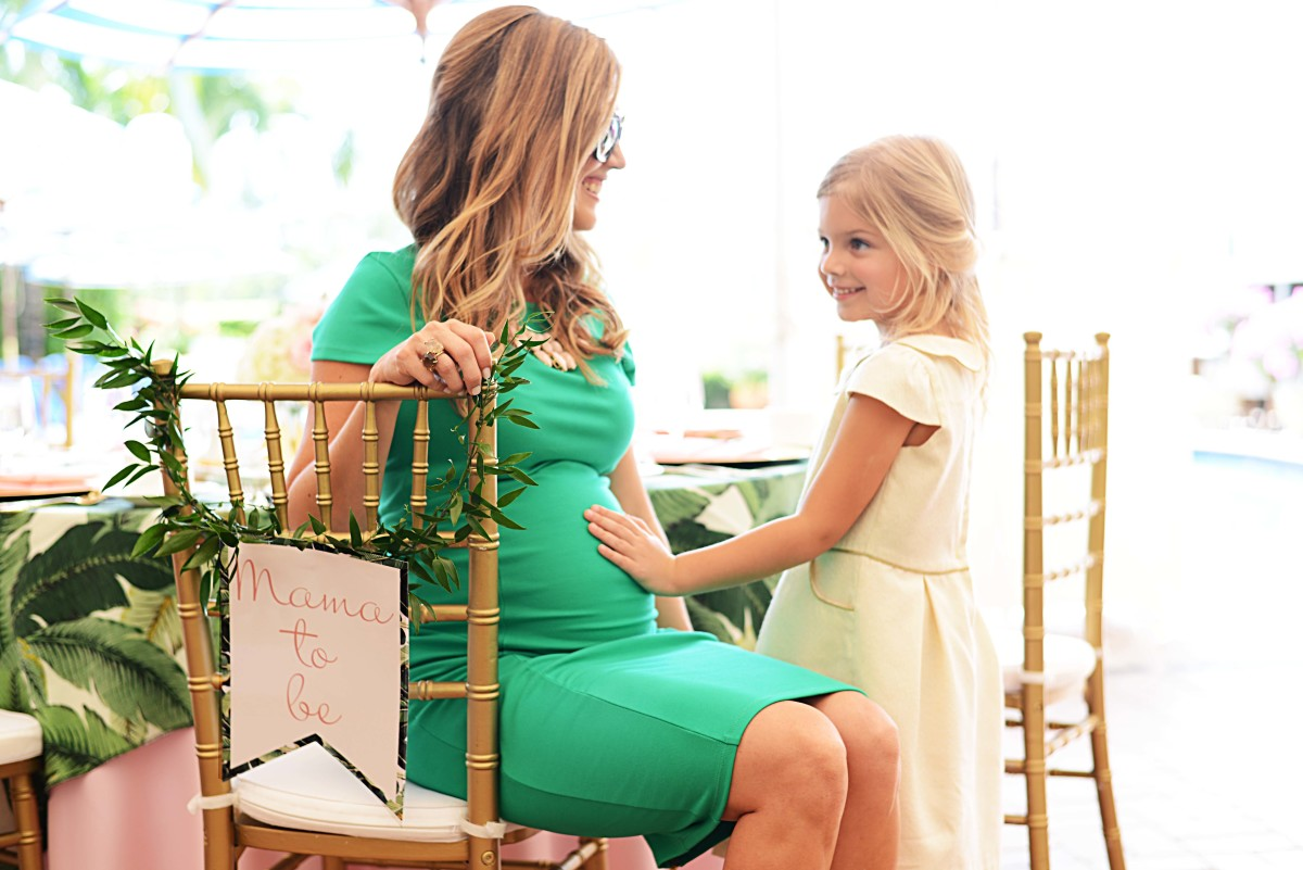 Beth S Flamingo Inspired Baby Shower Palm Beach Lately