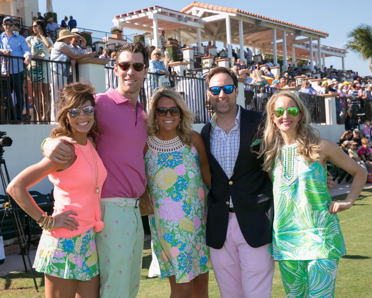 Social Lilly Pulitzer Brunch At International Polo Club