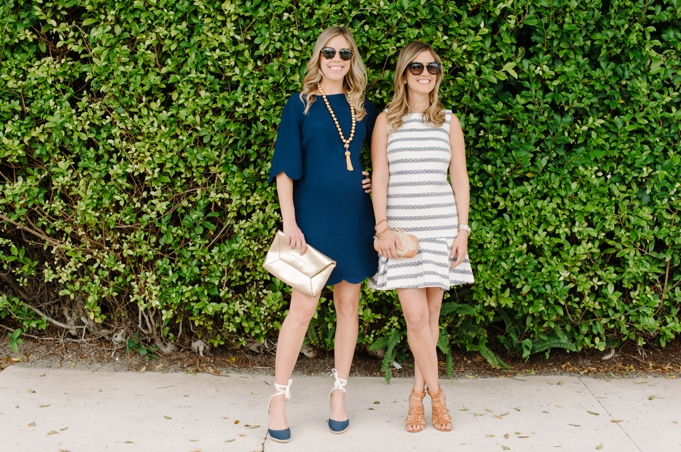palm_beach_sail_to_sable_spring_fashion_stripes_navy_scallops_dress_gold_tassel_necklace_clutch_espadrilles_heels_sunglasses