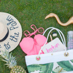 What's in our Banana Leaf Beach Bag: Featuring Ashley Brooke Designs