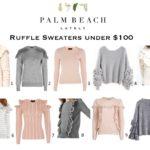 Ruffle Sweaters Under $100