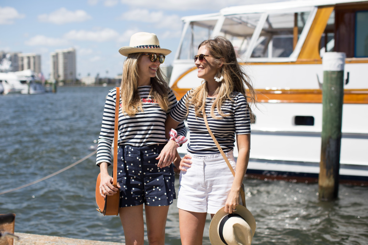 Palm Beach Lately in J. Crew Stripes