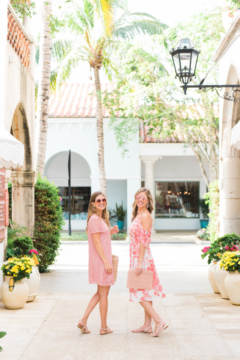 Palm Beach Lately Wearing LOFT on Worth Avenue