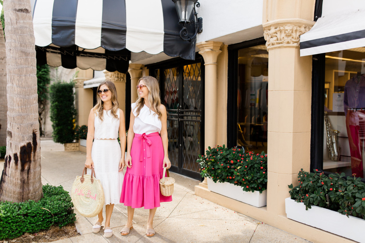 Palm Beach Lately Wearing J. Crew on Worth Avenue