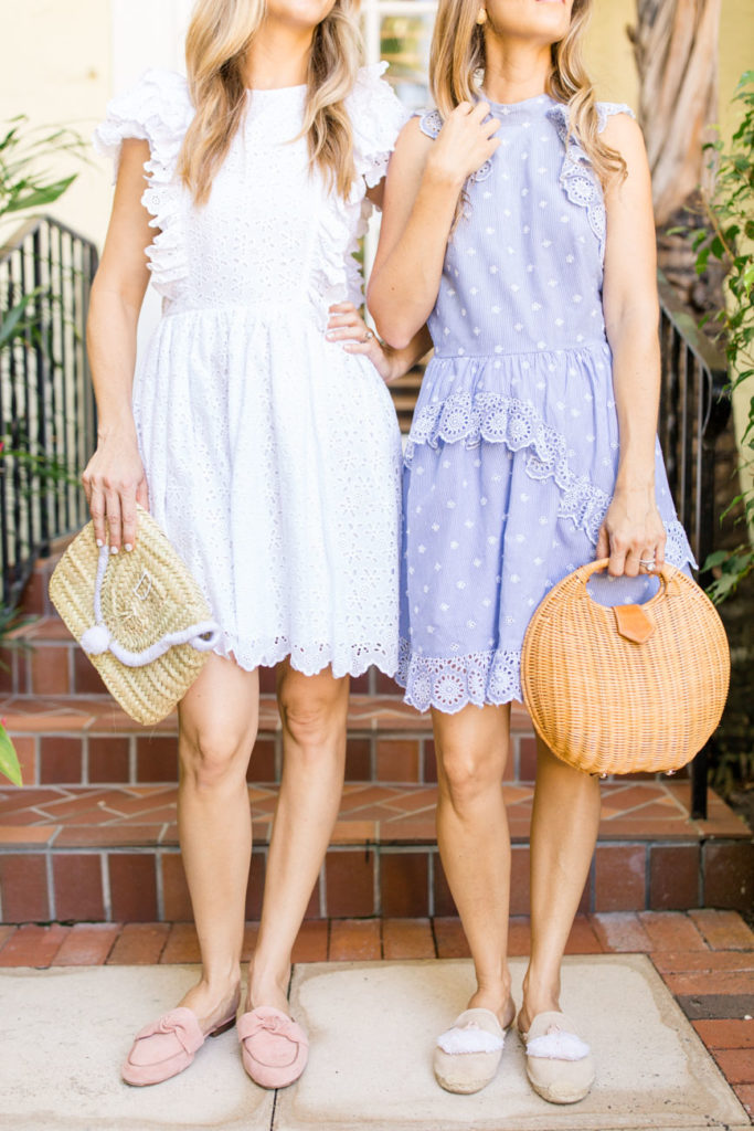 Fashion: Eyelet Dresses