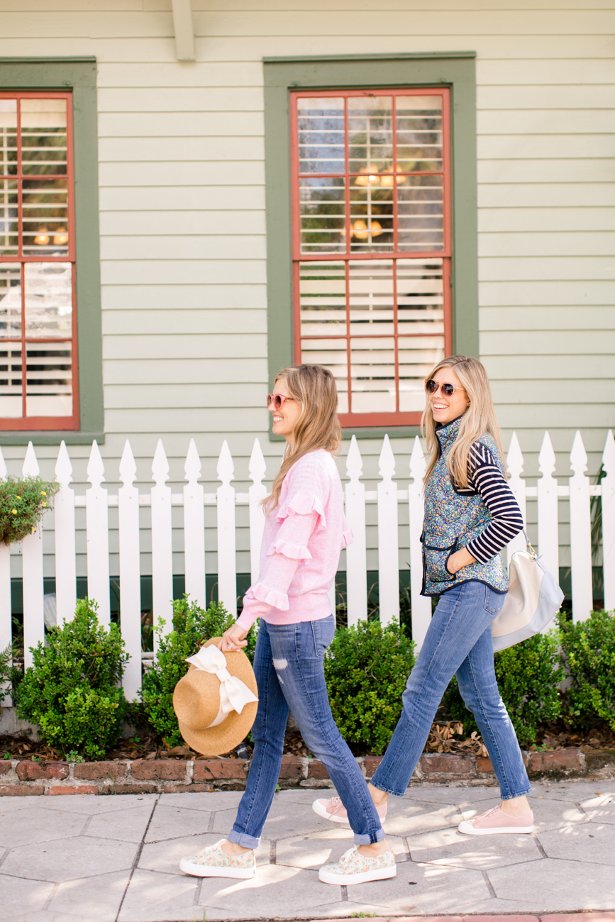 Fashion: Blush and florals for fall with Palm Beach Lately