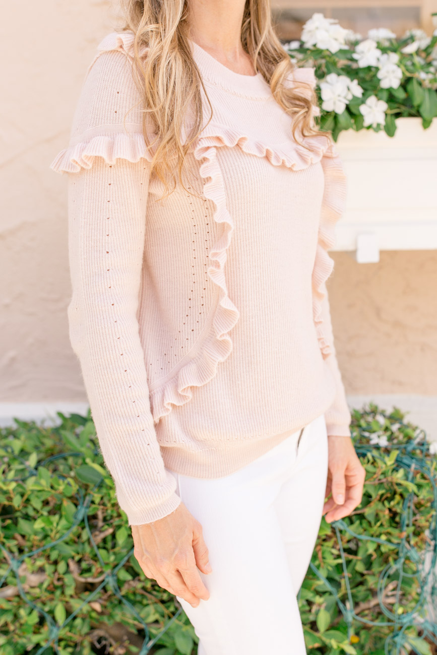 Fashion: Fall Ruffle Sweaters by Palm Beach Lately