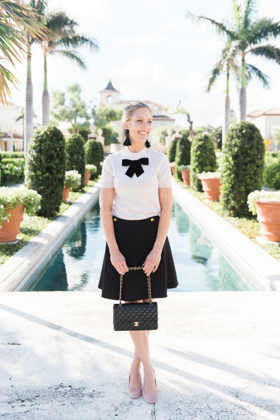 fashion: kate spade holiday with palm beach lately