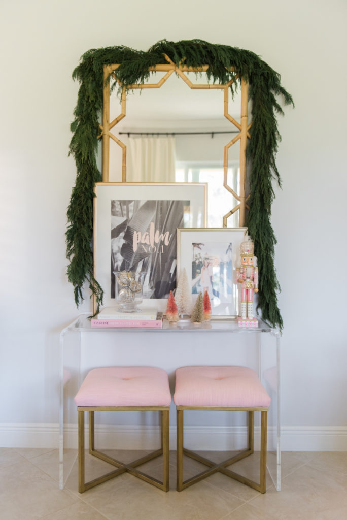 Sister style: How to style a console two ways with Palm Beach Lately and Framebridge