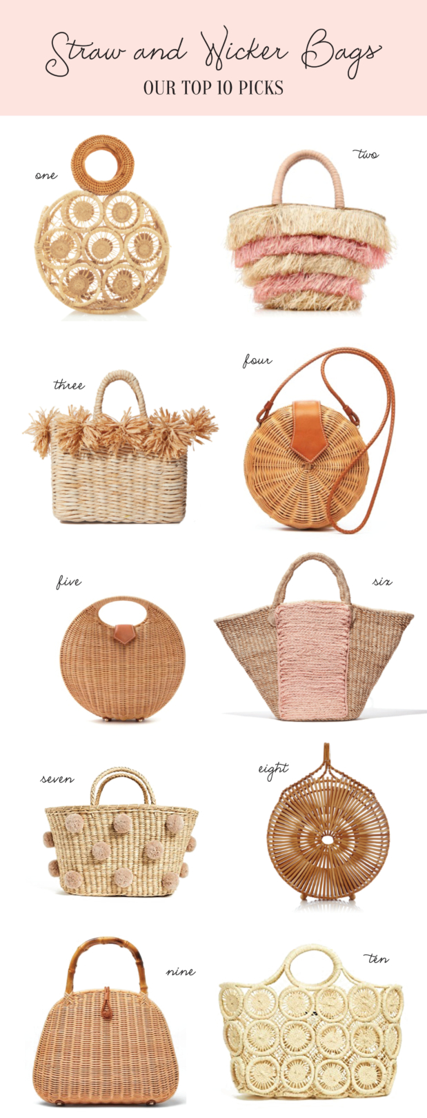 Palm Beach Lately's Favorite Straw and Wicker Bags
