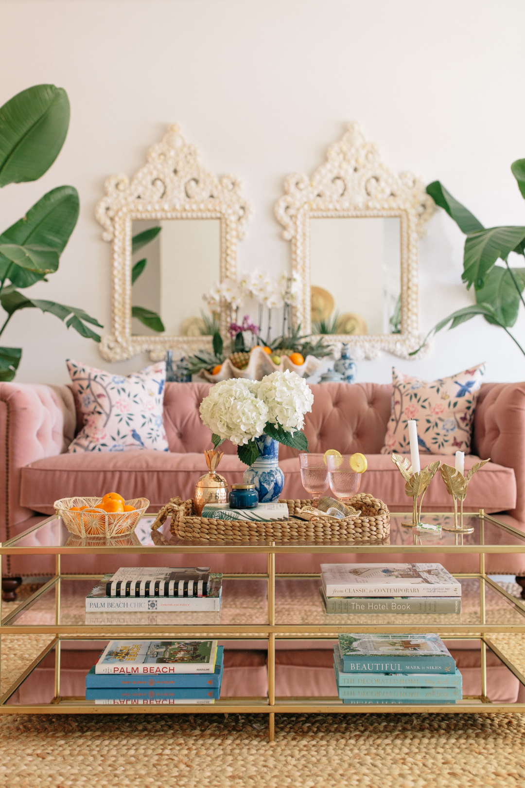 Home: Danielle from Palm Beach Lately's Living Room