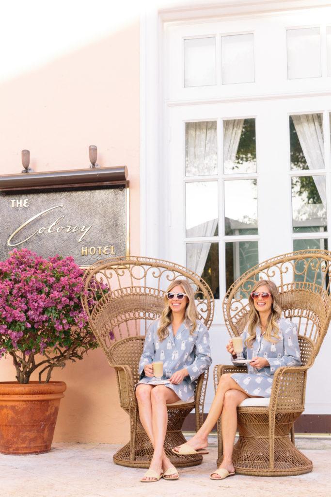 Fashion: Austin Morgan Pajamas with Palm Beach Lately