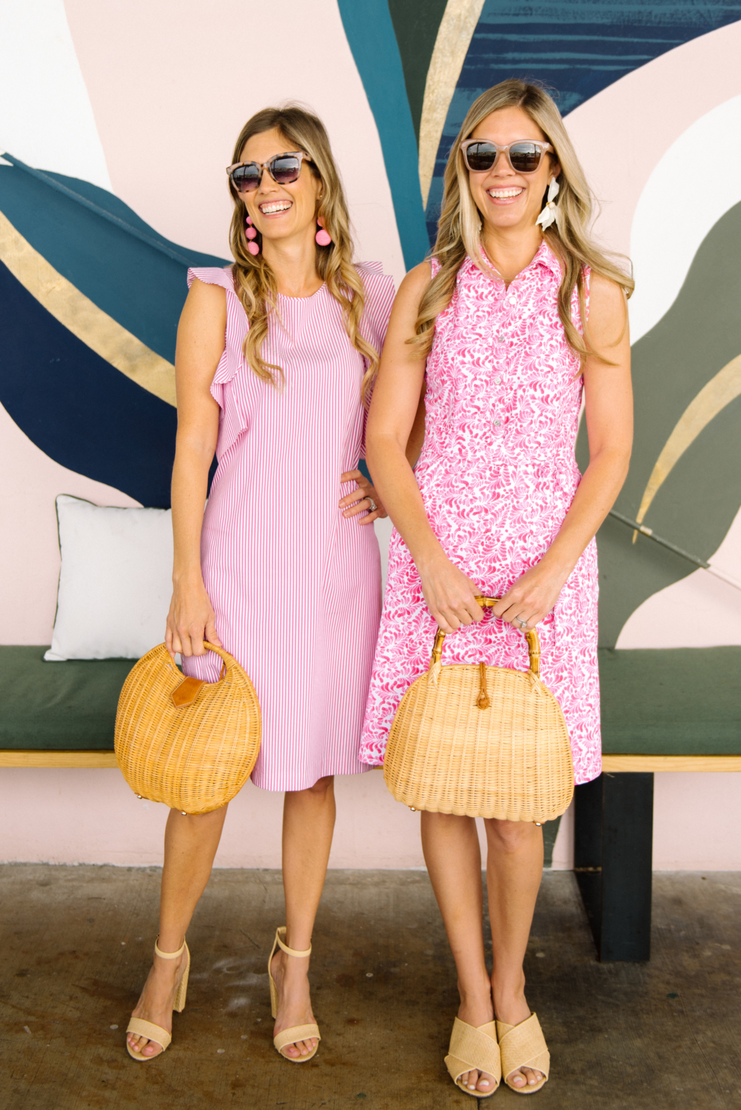 Fashion: Pink Dresses by J.McLaughlin with Palm Beach Lately