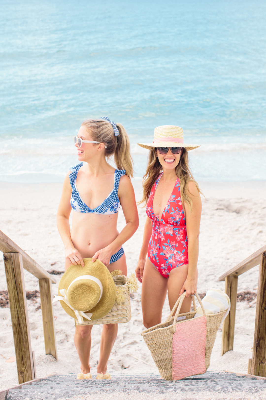 Fashion: Lands' End National Swimsuit Day with Palm Beach Lately