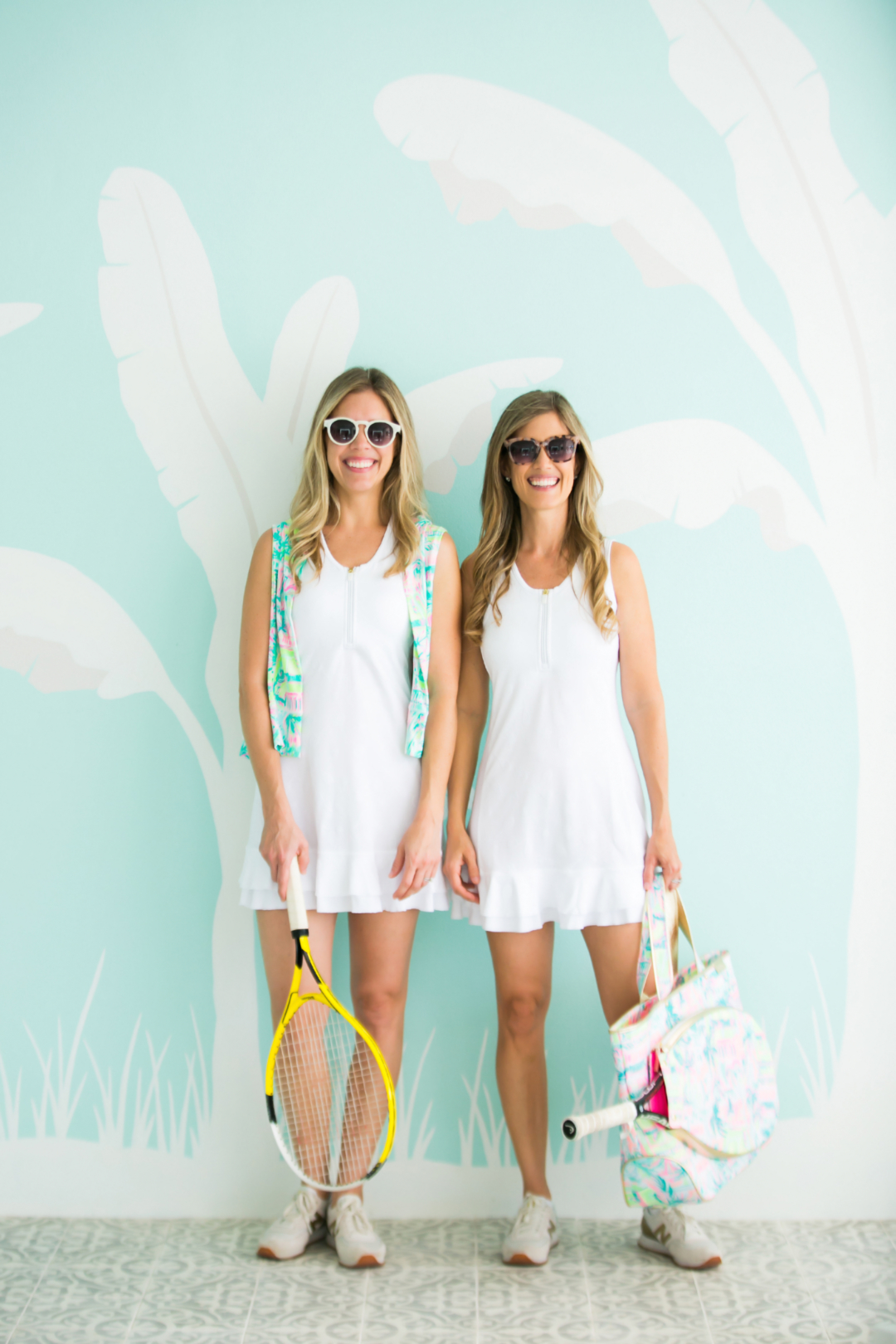 Sumer Lately: Tennis with Palm Beach Lately wearing Lilly Pulitzer