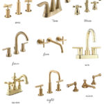 Home: Brass Bathroom Faucets