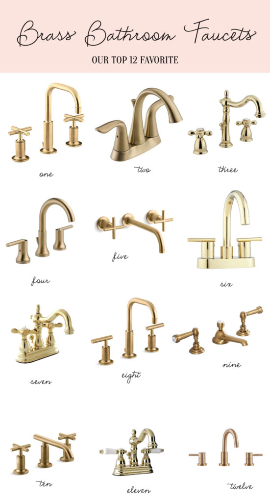 Palm Beach lately's favorite brass faucets