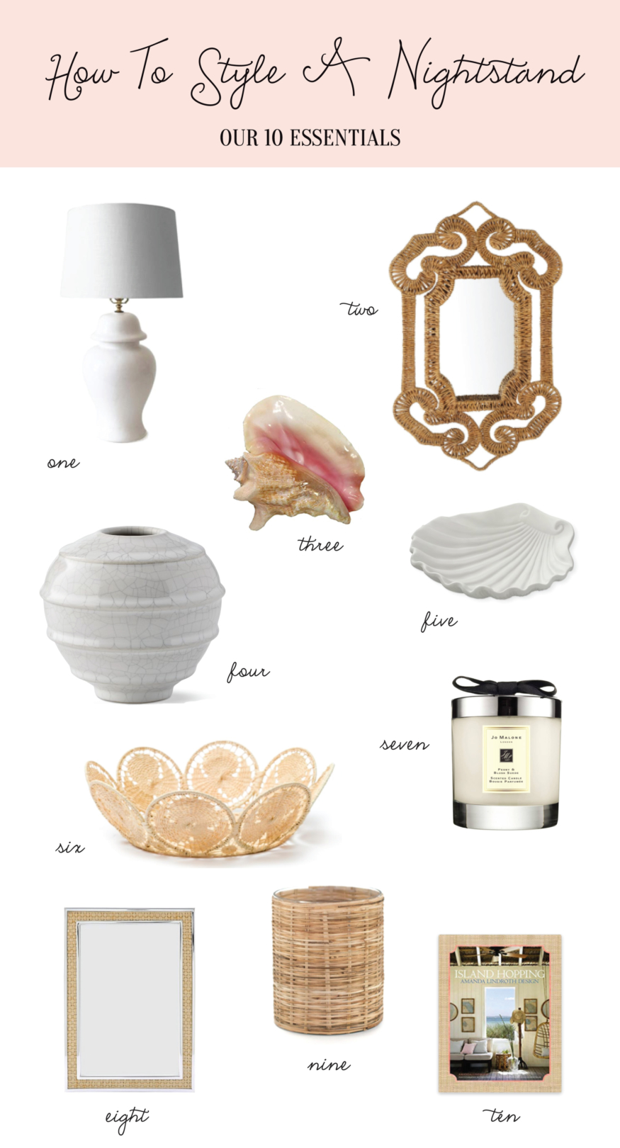 Home How To Style A Nightstand Palm Beach Lately