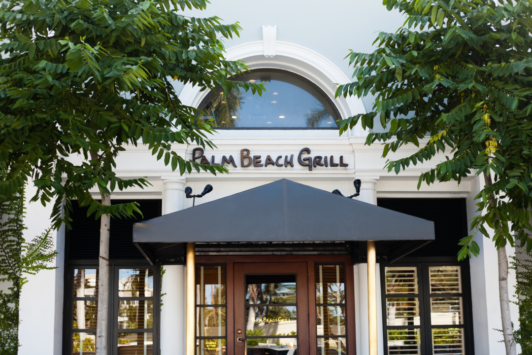 Palm Beach Grill in Palm Beach Lately's Travel Guide to Palm Beach