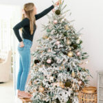 Black Friday: Blush and Green Holiday Decor