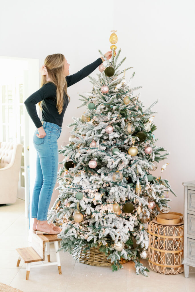 Black Friday: Blush and Green Holiday Decor with Palm Beach Lately