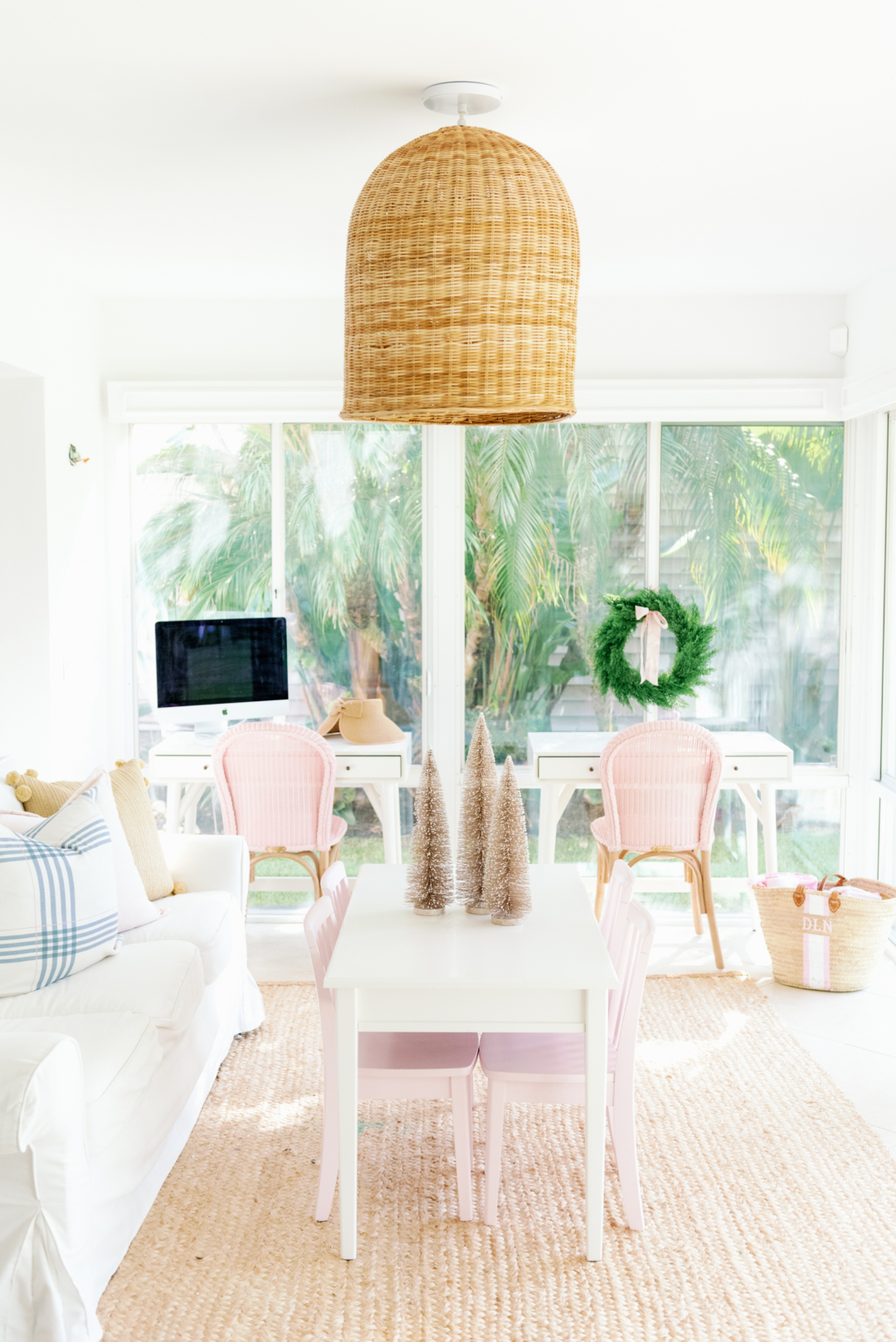 Home: Holiday Beach House with Serena and Lily and Palm Beach Lately