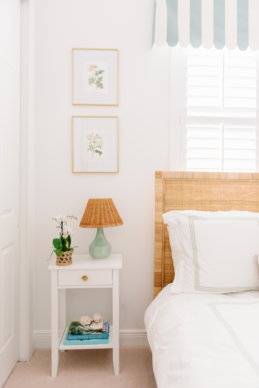 Palm Beach Lately's Mint Guest Room
