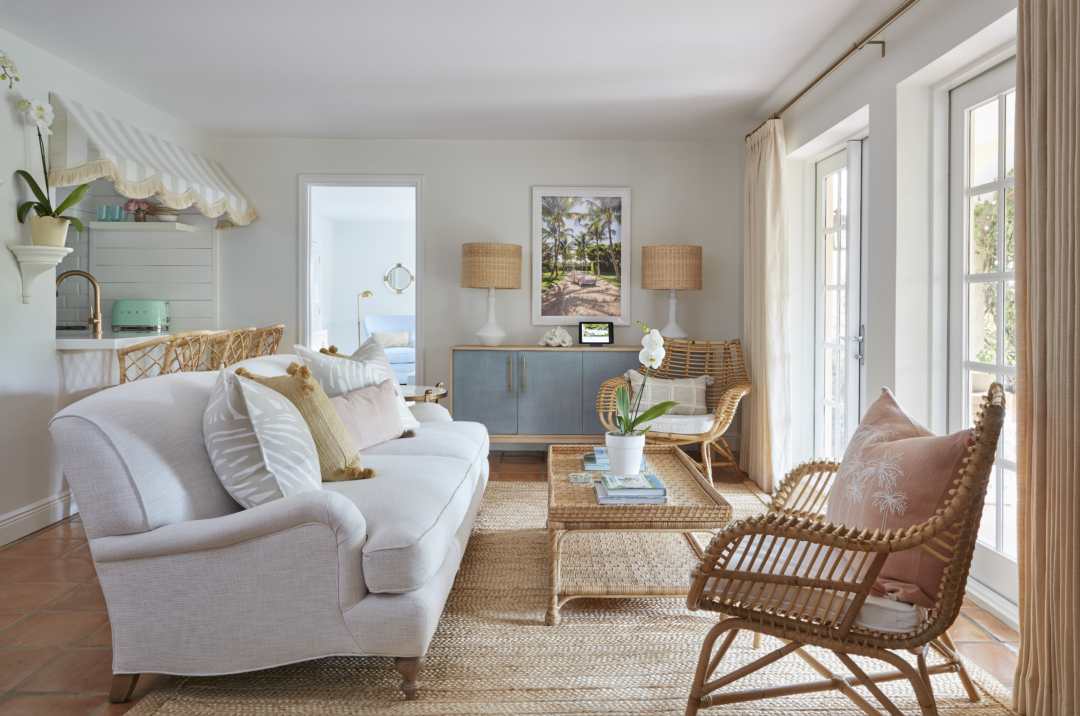 Home: Natural Seating with Serena & Lily and Palm Beach Lately