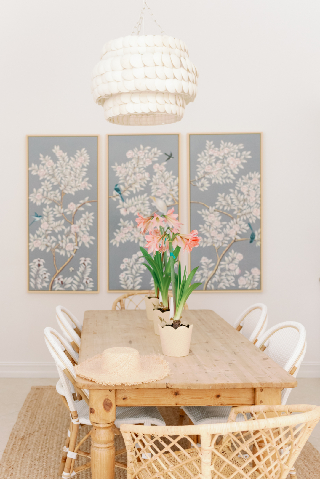 Triptych Chinoiserie
