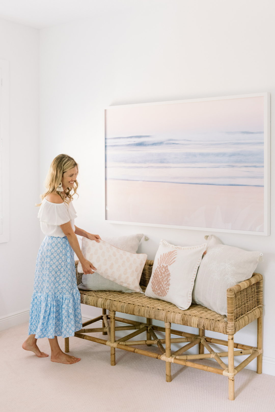 Home: Summer Update with Serena & Lily and Palm Beach Lately