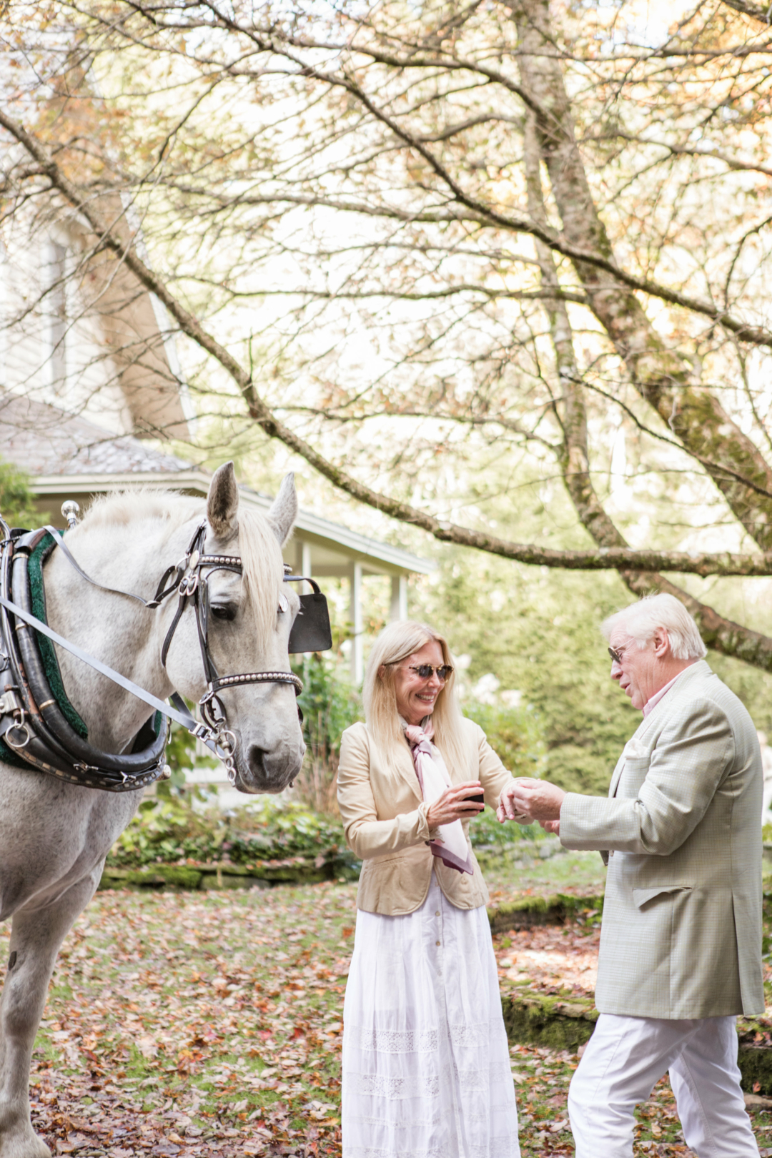 Travel: Palm Beach Lately Engagement at Old Edwards Inn and Spa in Highlands, NC