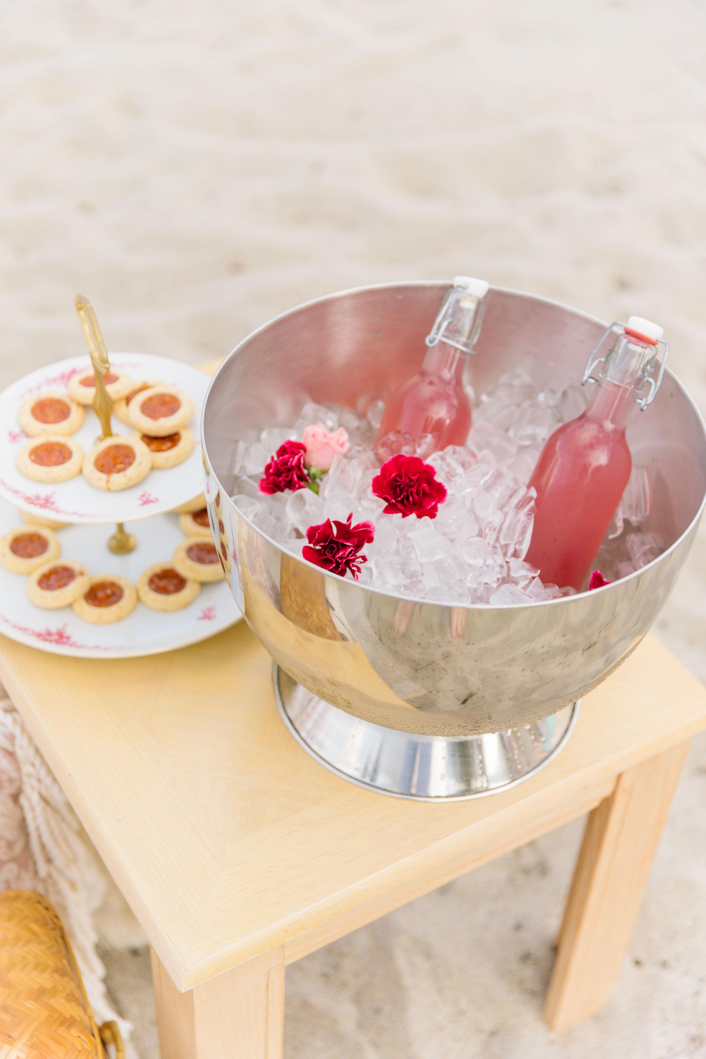 Palm Beach Lately Valentine's Day Beach Picnic